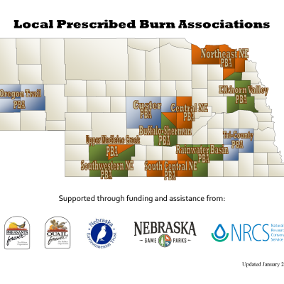 Burn Association Map-2015 1-20-16